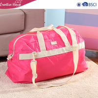 Luggage & Travel Bags expandable waterproof Nylon 420D duffel tote hand traveling bag foldable travelling bag
