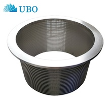 Stainless steel 304 & 316 wedge wire filter strainer baskets