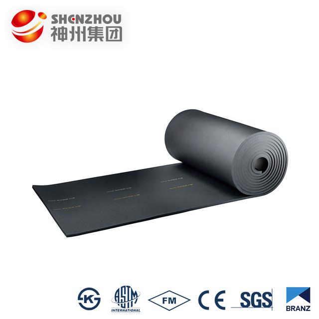 Good quality flexible mica rubber foam insulation sheets, sticky insulation sheet, flexible thermal insulation sheets