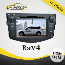 hot sale car dvd player for toyota rav4 with bluetooth