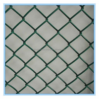 6 foot pvc coated plastic chain link fence