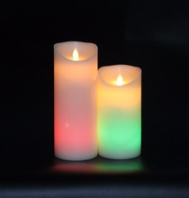 high quality glow your party with flameless color changing LED candle