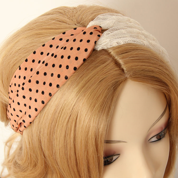 MYLOVE hot sale retro headband women elastic hair band