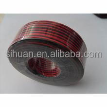flexible high quality speaker wire black and red
