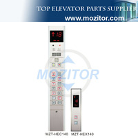 Elevator electric parts lcd display elevator cop lop MZT-HEC140
