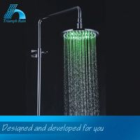 Professional Produce Lowest Cost Bathroom Power Led Shower Head Bathroom Accessories