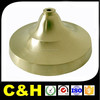 Top precision cnc brass lamp parts supply
