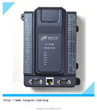Remote Control System PLC T-910(Modbus RTU/TCP) with 8AI 2AO 12DI 8DO For Oil and Gas Well Monitoring