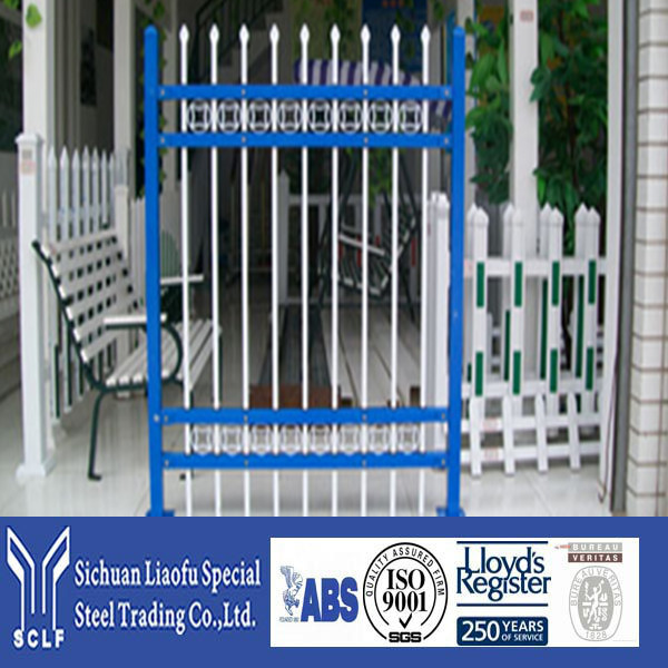 Direct Factory Price Metal Modern Gates Design And Fences With Different Powder Coating Colors Surface