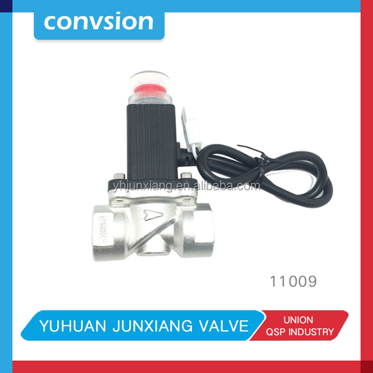 "JUNXIANG 11009 1/2"" Gas Emergency Shut Off Aluminium Gas Solenoid Valve"