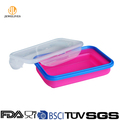 Silicone lunch box suitable for Microwave and Dishwasher