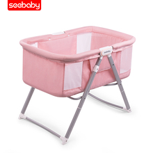 P2 Baby cradle Baby travel bed Multifunction baby crib bed