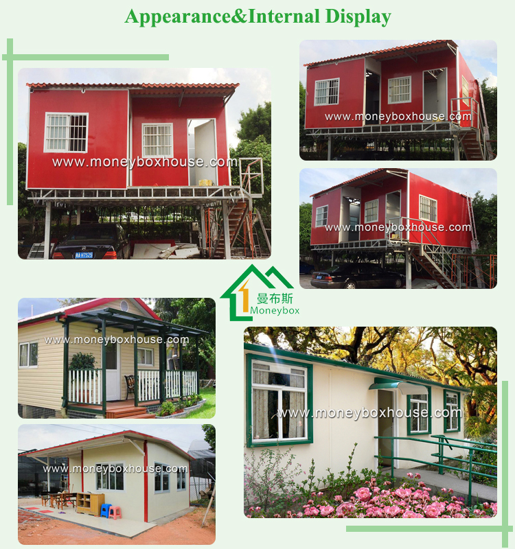 Durable iron sheet houses, metal garden shed /iron structure houses for Japan