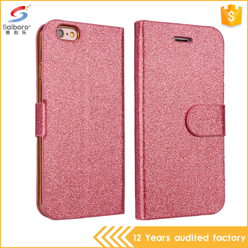 China manufacturer latest design flip cover for iphone 5s case leather