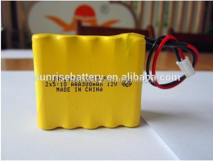 NI-MH AAA 300mAh/12V ni-cd AAA battery pack/factory direct