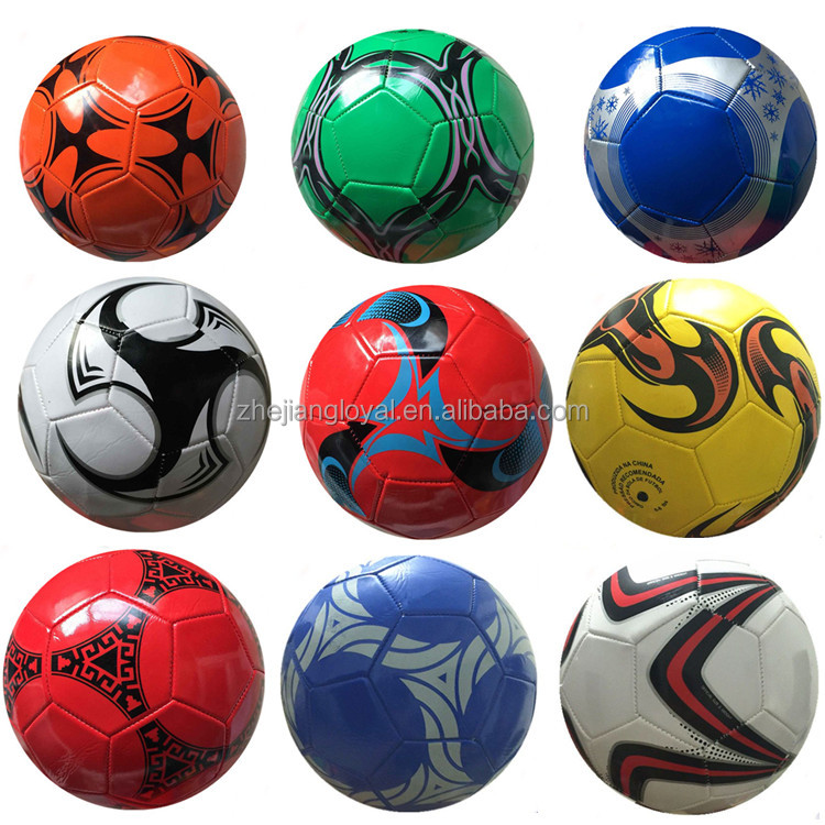 Professional TPU custom logo EVA soccer ball size 5 pvc foam football with customized brand