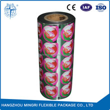 CM014-1 customized automatic packaging cup sealing film for Jelly