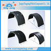 Factory supply high quality reinforced plastic trailers mudguard universal semi trucks fenders skirt stocks