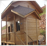 Prefabricated Log Cabin Wooden House for Sale