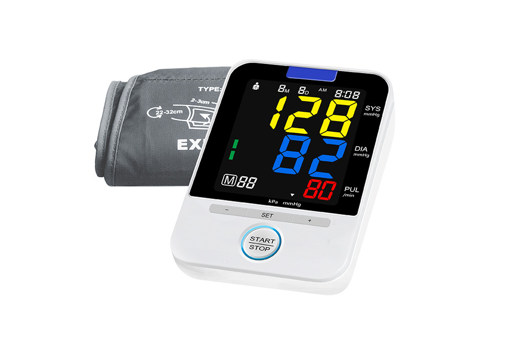 Automatic Electronic Blood Pressure Measuring Machine Monitor for Elderly Care with FDA