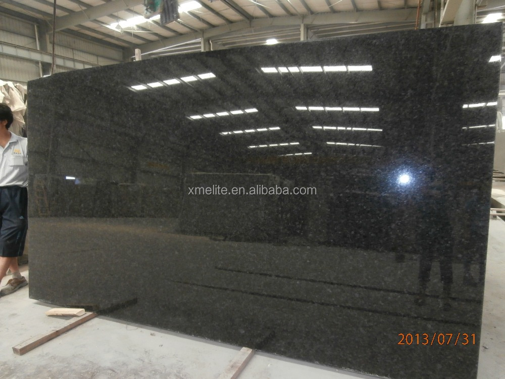 Imported angola black granite