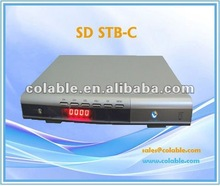 digital TV receiver box , DVB-C STB ,sd set top box COL370i