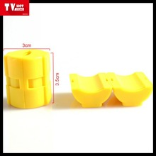 Durable yellow Electric Car fuel saver On TV Gas Energy Magnetic Economizer saver
