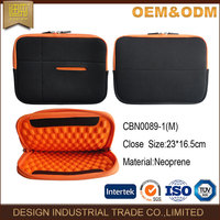 2016 fashion portable computer bag hot sell customize logo zip Neoprene laptop sleeve custom bag case wholesale for pad