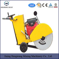 9.6hp portable gasoline concrete road cutter with robin gasoline engine