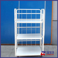 light weight wire mesh roll container for storage