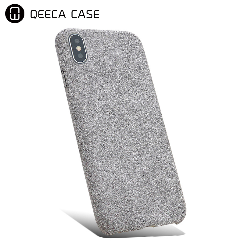 For iphone x colorful soft tpu microfiber moblie phone case, for iphone x color tpu case