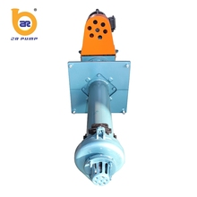 single stage rubber impeller vertical submersible pump for sale