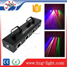high quality four-lens RGBY laser diode brand new stage laser light for Bands Pubs Roller skating rinks