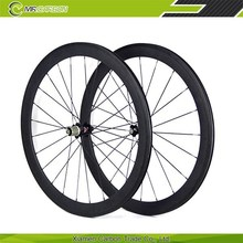full carbon road bike wheel 50mm Clincher 23mm wide carbon fiber road bike wheelset carbon fibre bike