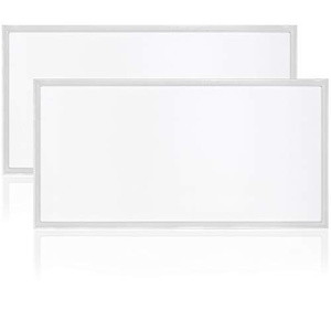 Cost Less Lighting 2x4 Ultra-Thin Edge-Lit 1200x600 Flat Dimmable LED Panel 60 Watt (5000 Kelvin Daylight)