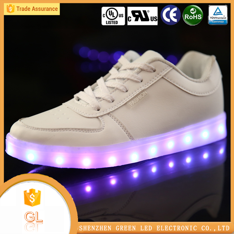China manufacturer high quality lighting flashing luminous wenzhou shoes