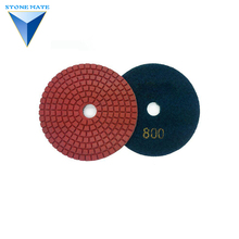 Fashion dry granite polishing pads floor flexible pad