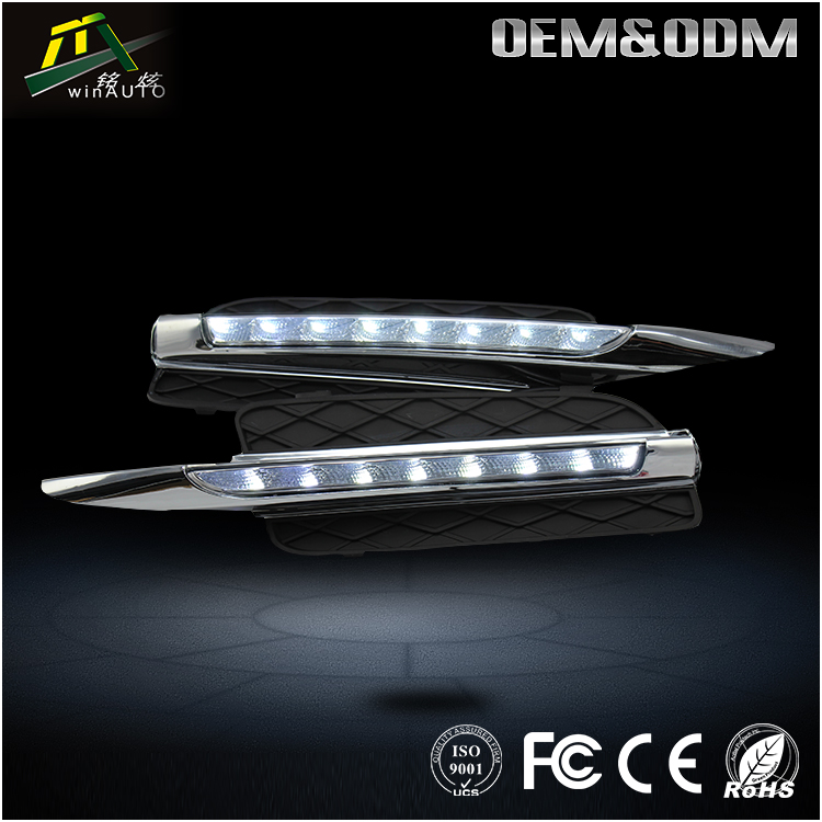 Dual Color switchable flexible LED DRL/daytime running light For BMW X5 E70 2007 - 2010
