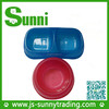 [Sunni]Hot sale automatic magnetic rectangular fancy pet bowls(made in china)