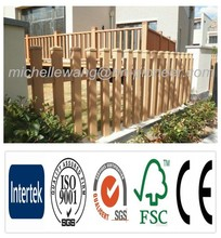 Easy install top quality Europe Popular WPC fence, Wood Plastic Composite Panel, outdoor wood plastic composite wall panel