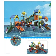 Hot selling water park playground water park business plan fiberglass water slide HF-G127A