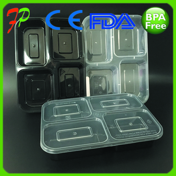 disposable lunch bento box food warm packaging container