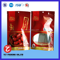 Organic pecans packing bag /Stand up nuts packing bag/ Plastic food bag with zipper