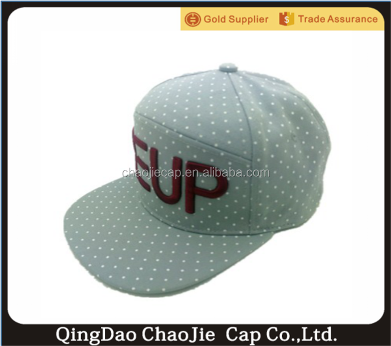 special 6 panel blank snapback caps