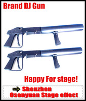 2pcs/lot ,Shipping Free !Crazy Stage co2 gun for Party ,co2 jet free hose ,best for stage !