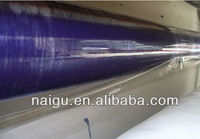 pvc/pe film color plastic film with adhesive