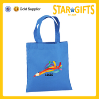 Alibaba China custom blank small shopper tote bag