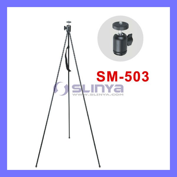 "ZipShot Mini 28"" Compact, Ultra-Light Tripod with Spring Open Legs"