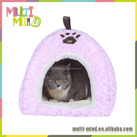 2016 Popular Pink Lovely cat bed Pet House