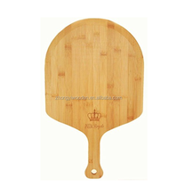 china factory BSCI&FSC bamboo large wooden kitchen food cheese board plate paddle